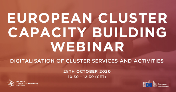Webinar Digitalisation of Cluster Services and Activities
